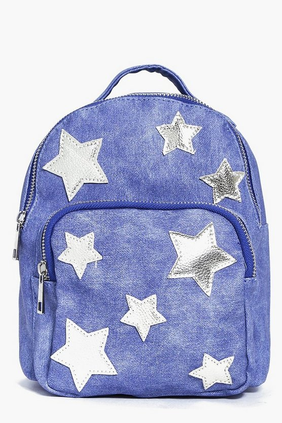 Amelia Star Print Backpack