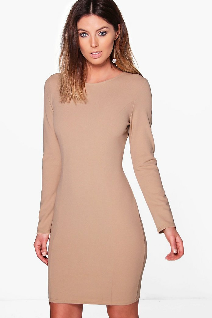 Freya Tailored Long Sleeve Dress