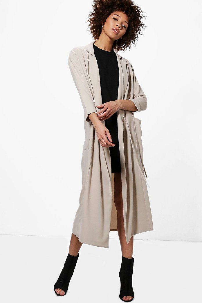 Georgina Tie Detail Duster