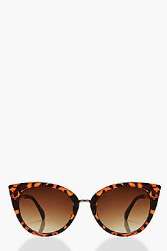 Cerys Tortoise Frame Cat Eye Sunglasses