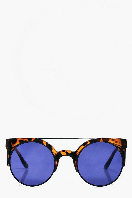 Lizzie Retro Tortoise Frame Fashion glasses