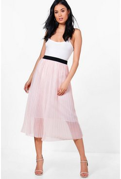 Sofia Boutique Tulle Full Midi Skirt
