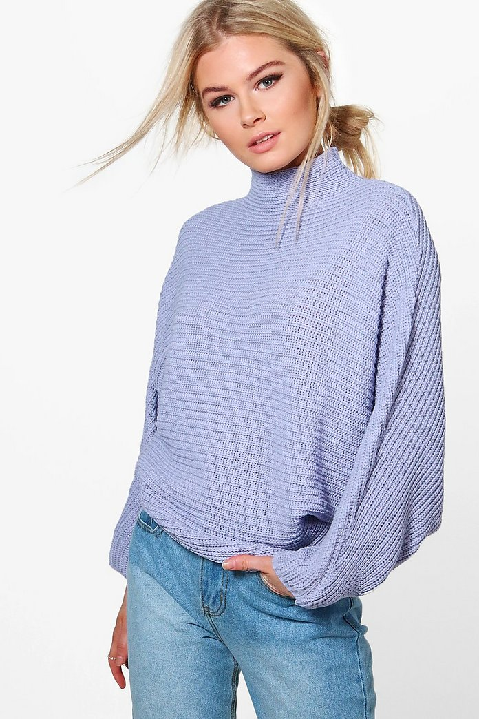 Amelie Oversized Fisherman Batwing Jumper