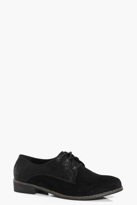 Megan Lace Up Brogue