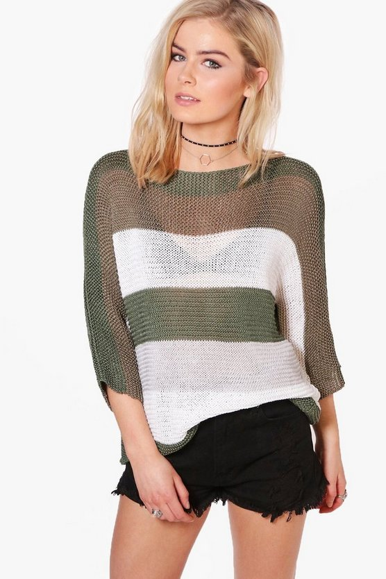 Daisy Oversized Striped Jumper