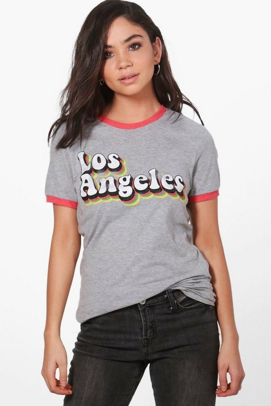Freya Los Angeles Ringer T-Shirt