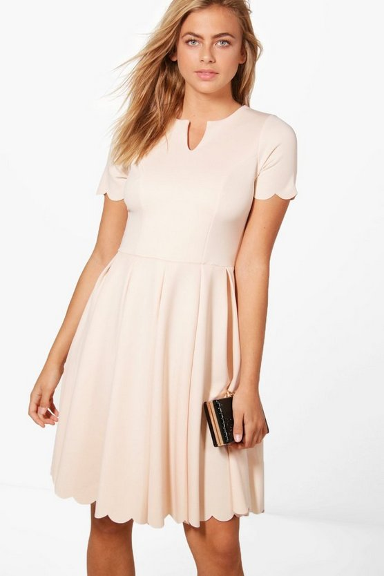 Alice Scallop Detail Dress