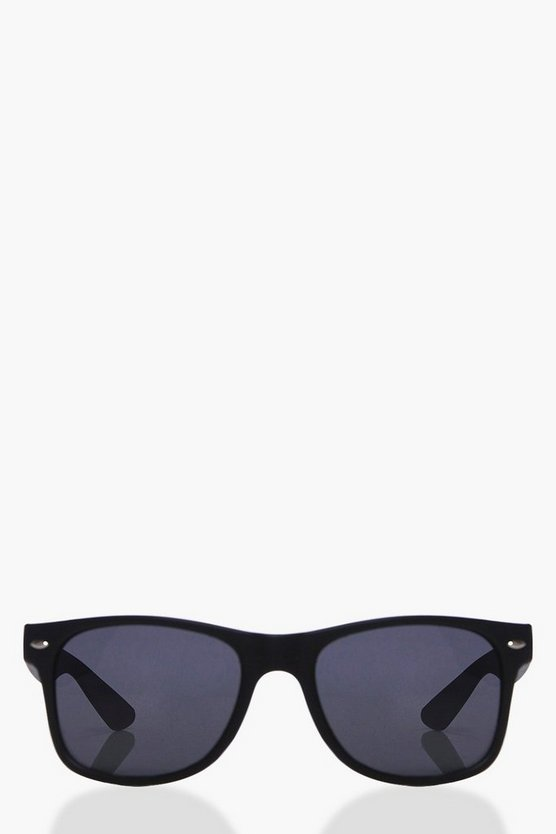 Macy Matte Black Classic Fashion Glasses