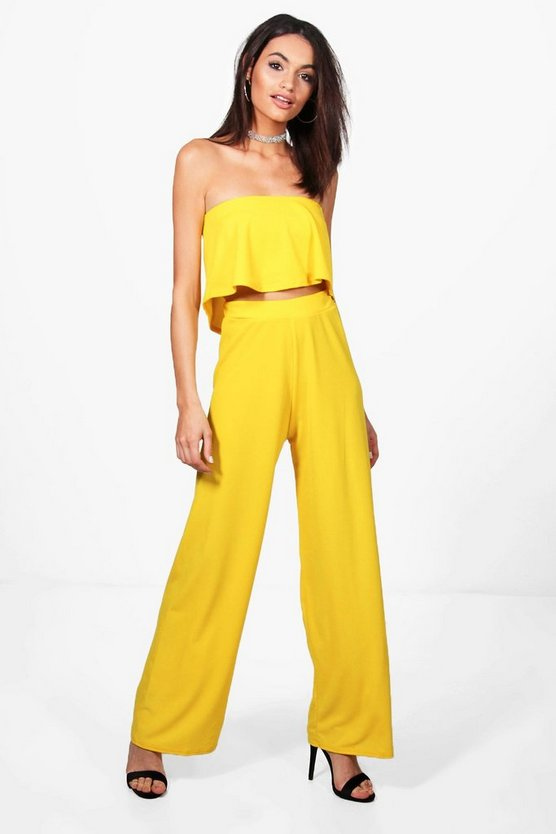 Cari Bandeau Top & Trouser Co-ord Set