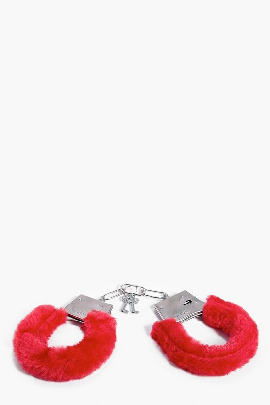 Fluffy Love Hand Cuffs