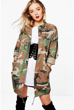Isobel Camo Jacket