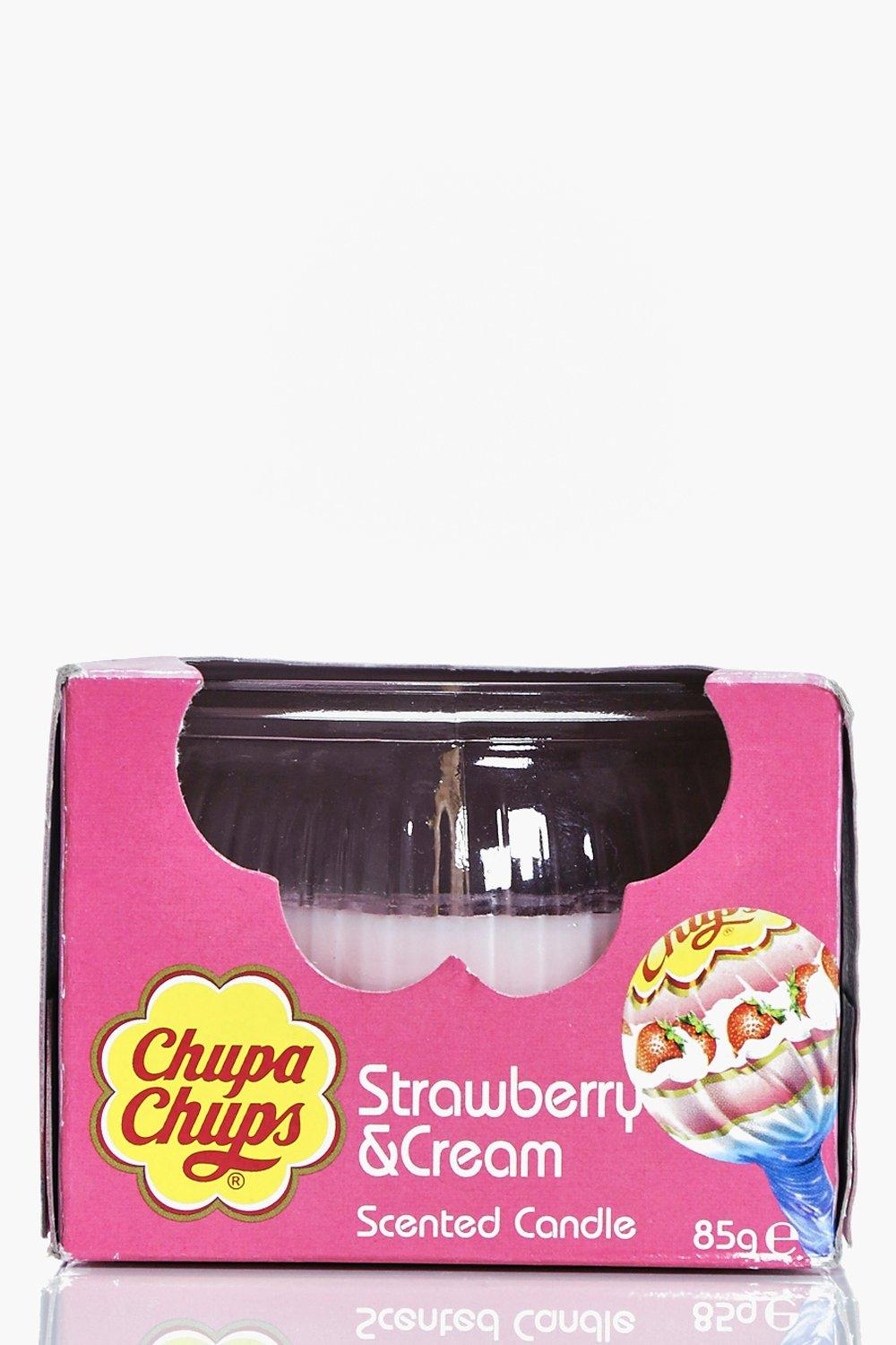 Image of Chup Strawberry & Cream Candle - pink