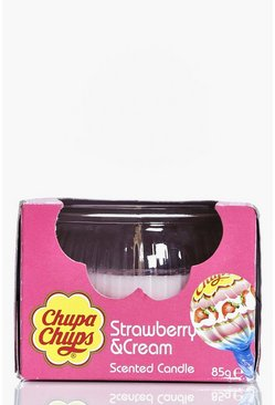 Chupa Chup Strawberry & Cream Candle