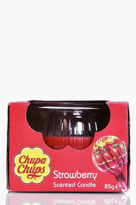 Chupa Chup Strawberry Scented Candle