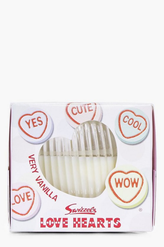 Love Heart Boxed Vanilla Scented Candle