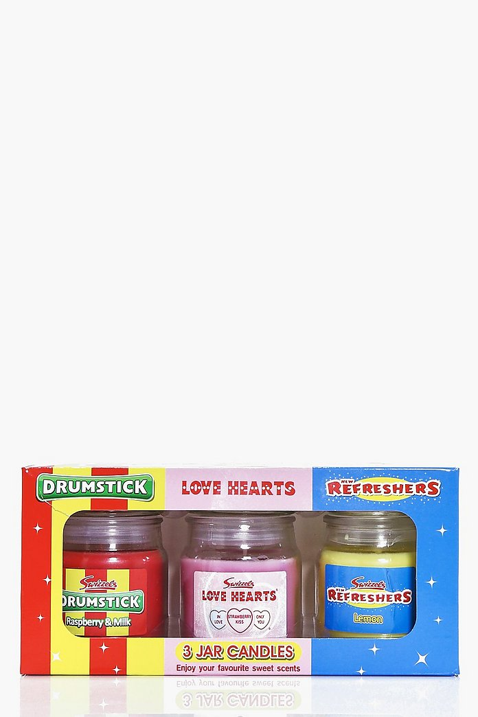 Swizzles Pack of 3 Candles Gift Set