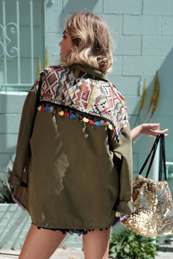 Verity Embroidered Festival Jacket