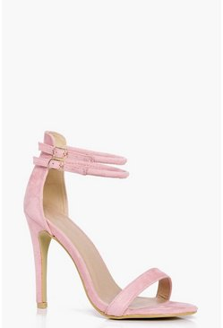 Libby Double Ankle Band 2 Part Heels