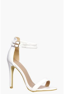 Zoe Double Ankle Band 2 Part Heels