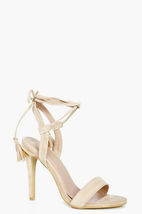 Harriet Wrap Strap Heels