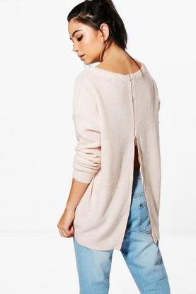Alice Zip Back Jumper