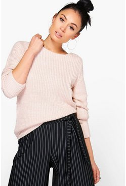 Harriet Turn Back Cuff Jumper