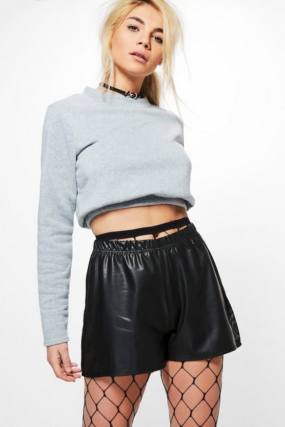 Esme Basic Crop Sweatshirt