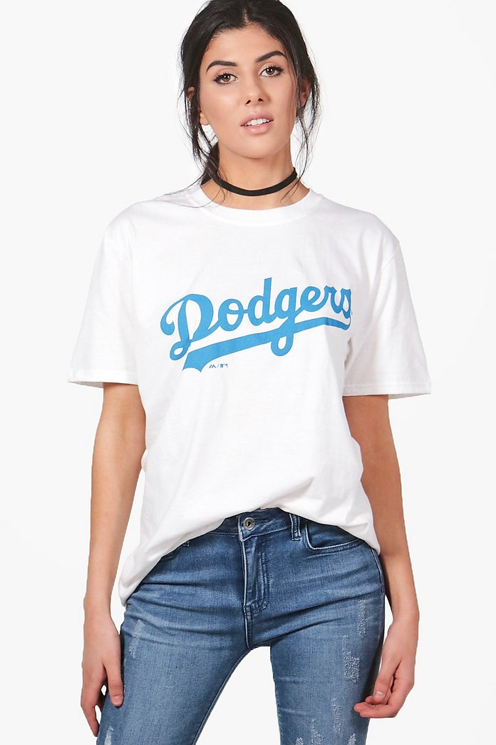 Lucy Dodgers Oversized License Tee