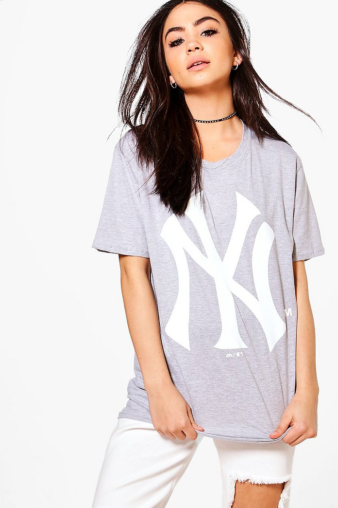 Ivy NY Yankees Oversized License T-Shirt