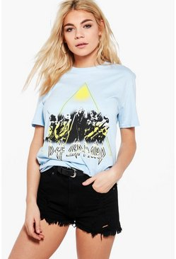 Amelia Def Leppard License T-Shirt