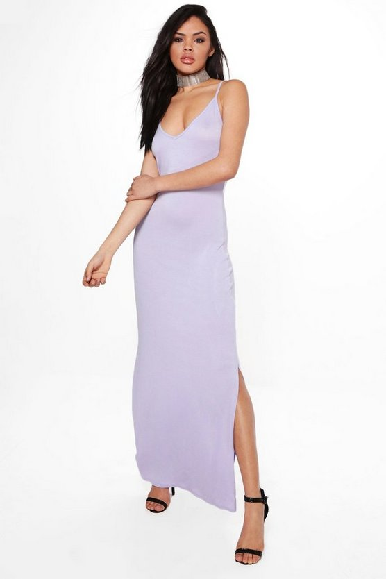 Amarta V Neck Strappy Maxi Dress