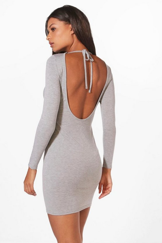 Alecta Scoop Back Bodycon Dress
