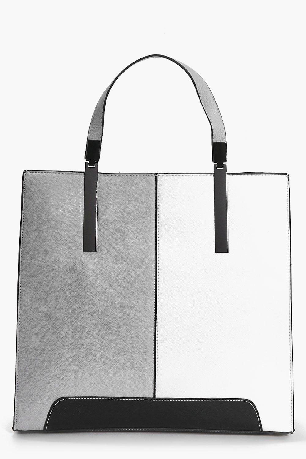 Alice Colourblock Front Tote Day Bag