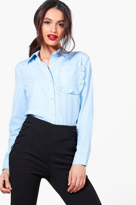 Faye Frill Pocket Shirt