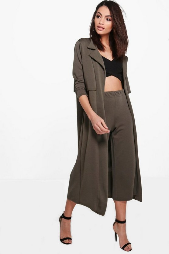 Lydia Tailored Duster Jacket