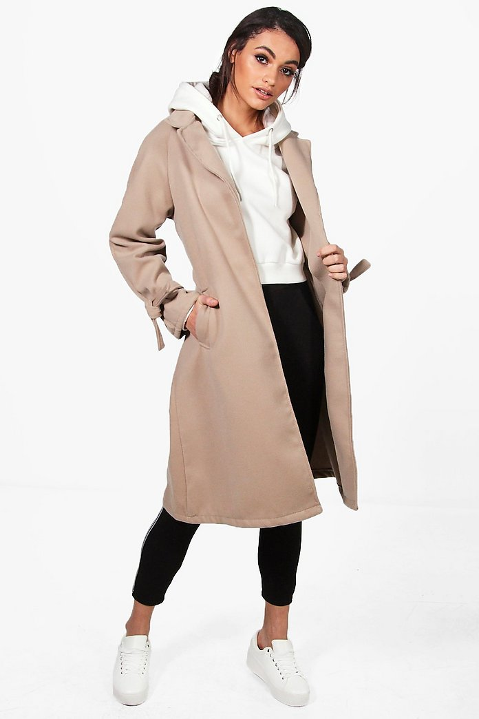 Veronica Belted Detail Coat