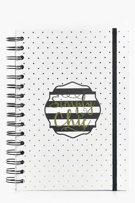 Simply Chic A5 Spiral Note Pad