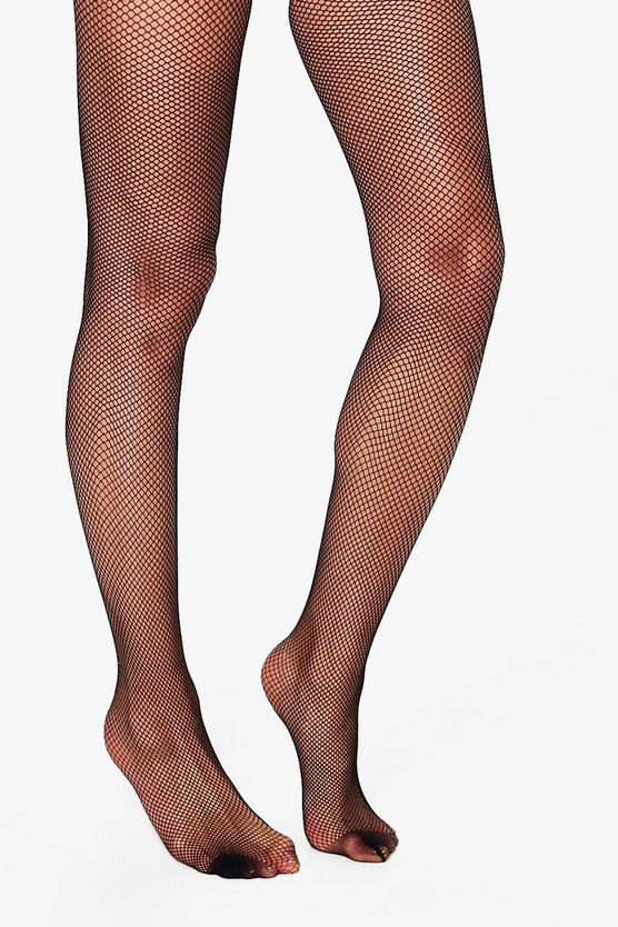 Felicity Plain Top Fishnet Hold Ups