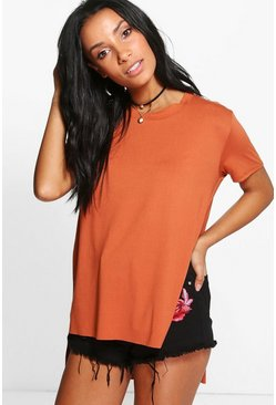 Maisie Side Split Oversized Tee