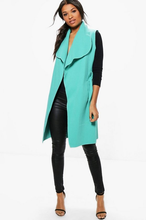 Karina Sleeveless Coat