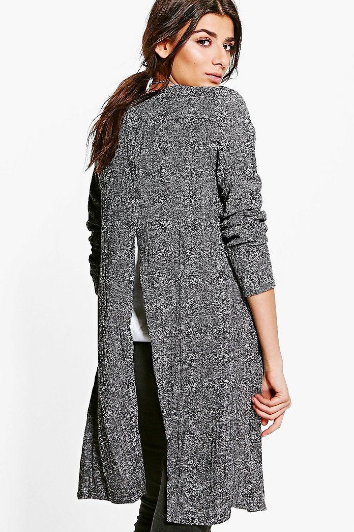 Grace Split Back Cardigan