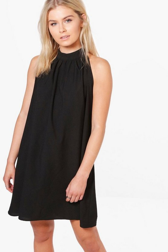 Queta High Nick Swing Dress