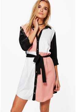 Kelly Colour Block Dress