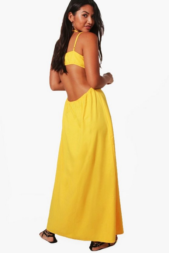 Daisy Strappy Back Maxi Dress