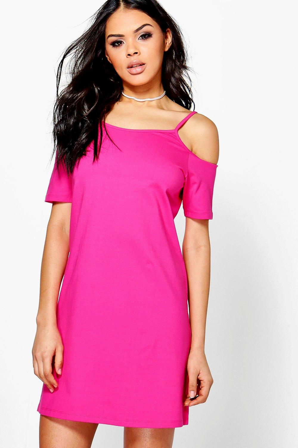 Lauren Cold Shoulder Shift Dress