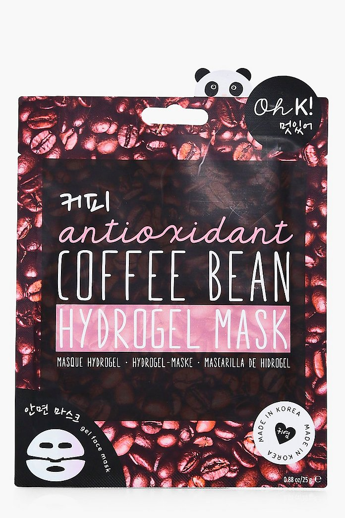 Korean Coffee Bean Hydrogel Mask