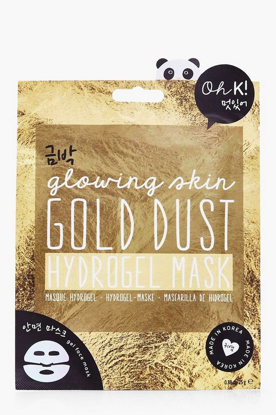Korean Gold Dust Hydrogel Face Mask