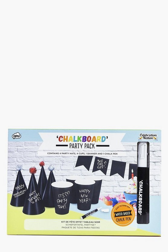 Chalk Board Customise Party Pack