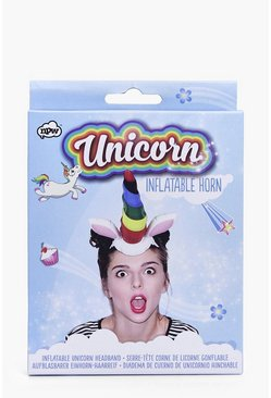 Unicorn Inflatable Horn Head Band