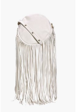 Freya Circle Fringe Cross Body Bag